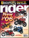 Rider magazine cover