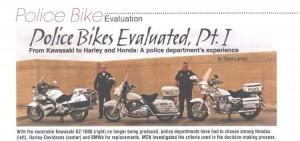 Phoenix police bike