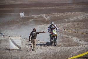 Dakar Checkpoint in Atacama Desert, 2010