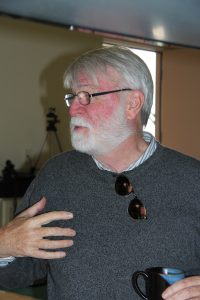 Photograph of Tom Innes