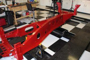 Elan car chassis