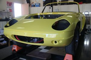 auto body of Lotus