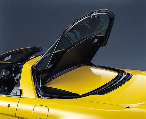 NSX- T hood in its holder