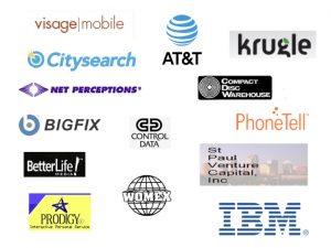 ATT, IBM, other corporate logos