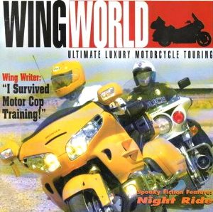 cover of Wing World magazine