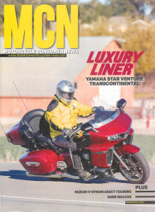Motorcycle News cover, March 2019