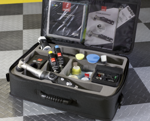 the case with everything that comes with the polisher