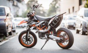690 SMC motorcycle