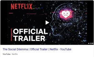 official trailer for The Social Dilemma